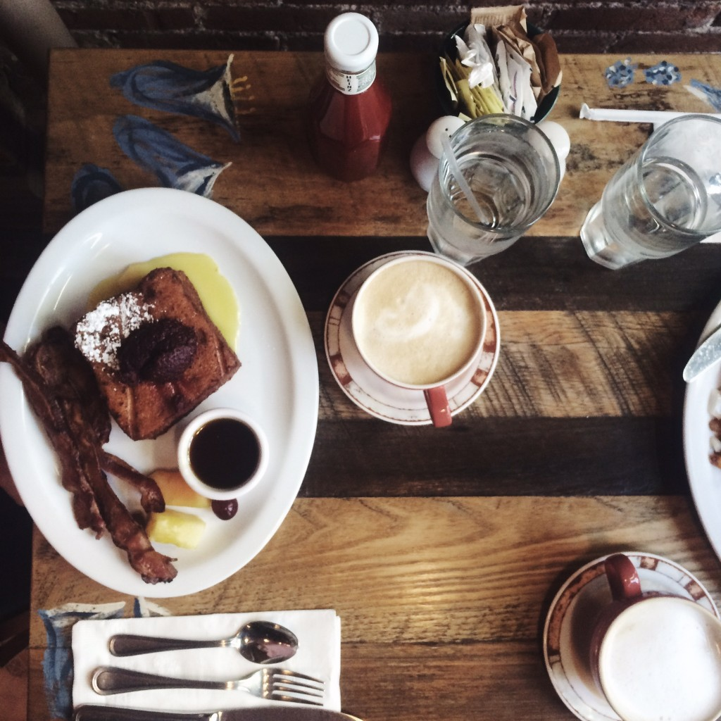 NYC with HM and Bloglovin-Breakfast at BlueBell Cafe New York City