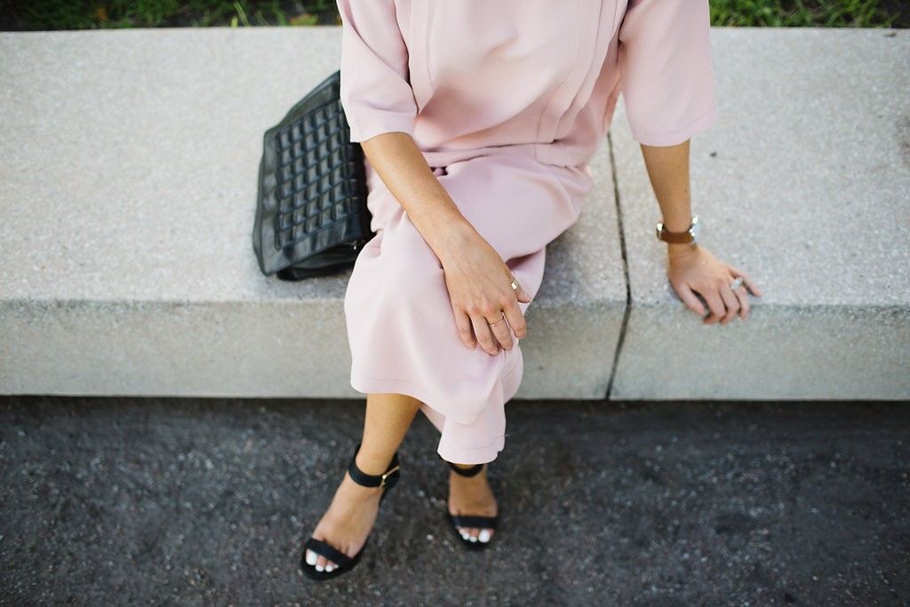 Chicwish Rouge Pink Set // Charleston Fashion Blogger Dannon, Like The Yogurt