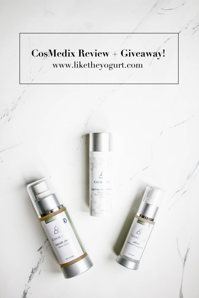 CosMedix Review + Giveaway! // Charleston Blogger Dannon Like The Yogurt