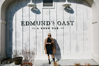 Edmund's Oast Brew Pub // Charleston Fashion Blogger Dannon Like The Yogurt
