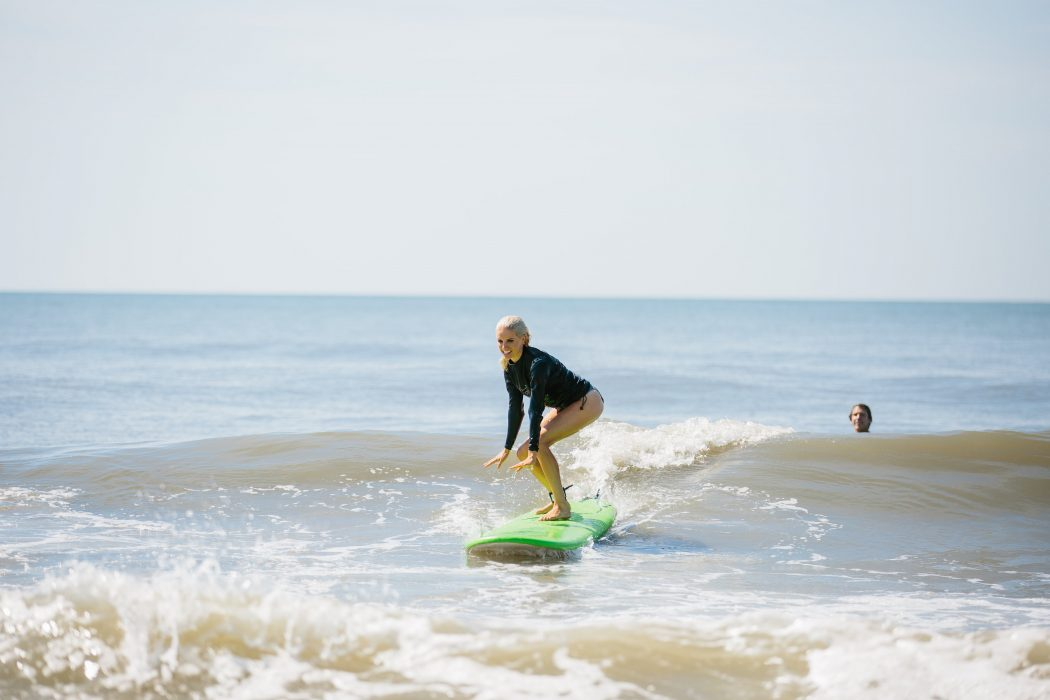 Isla Surf School surfing lessons folly beach, sc // Charleston Fashion Blogger Dannon K. Collard Like The Yogurt