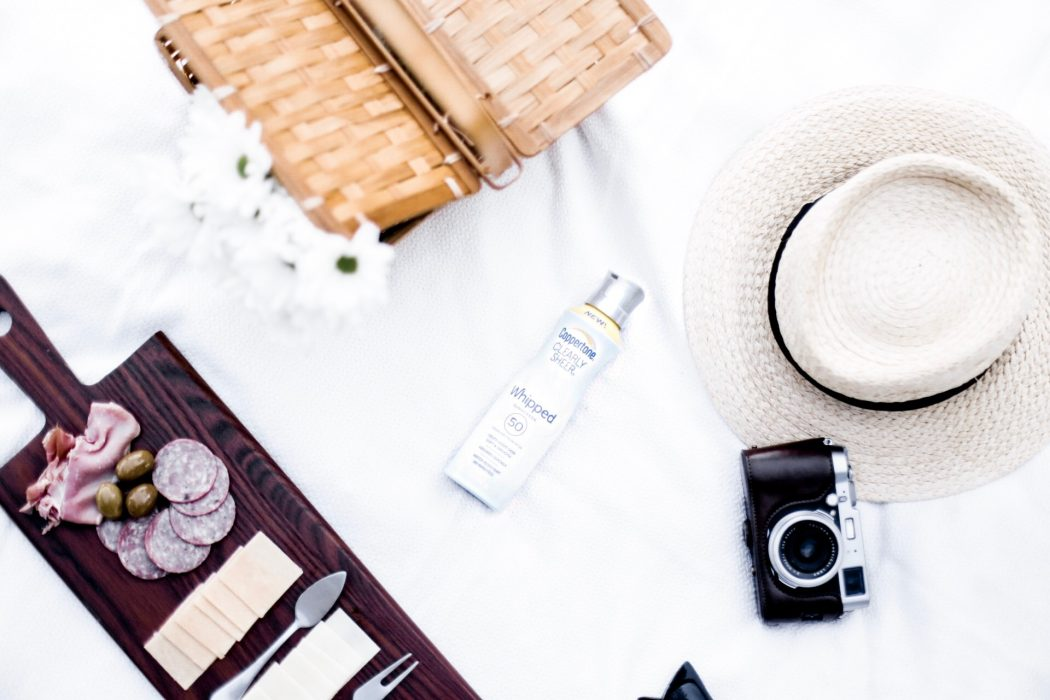 Coppertone Whipped Summer Sun Care Charleston Fashion Blogger Dannon K. Collard Like The Yogurt Picnic at The Battery
