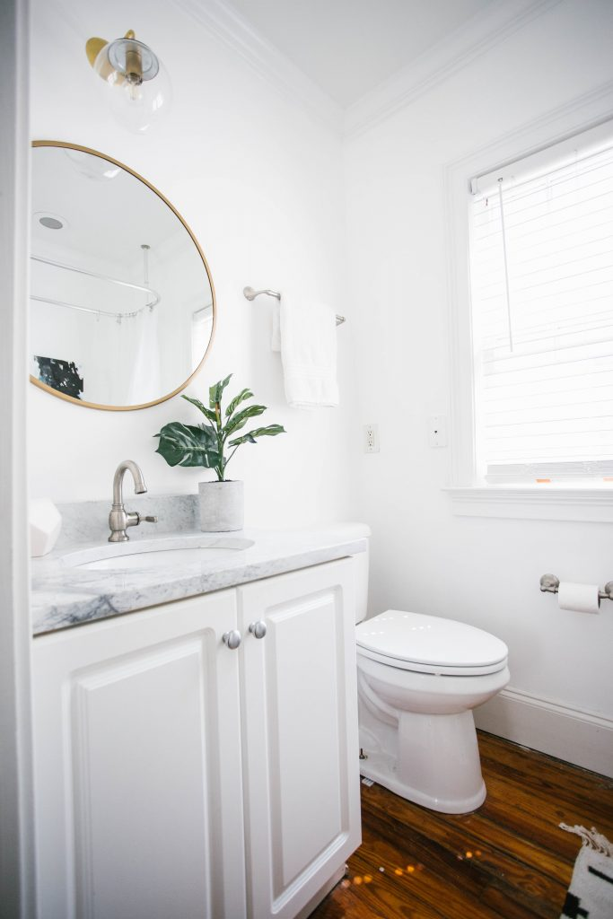 Guest Bathroom Reveal Like The Yogurt
