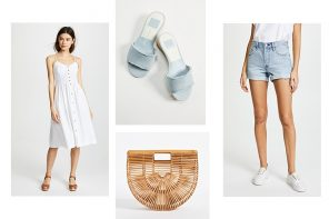 Shopbop Sale Spring 2018 styles cult gaia pastels c/mo collective slide mules cat eye sunglasses mom jeans // charleston fashion blogger dannon k collard like the yogurt
