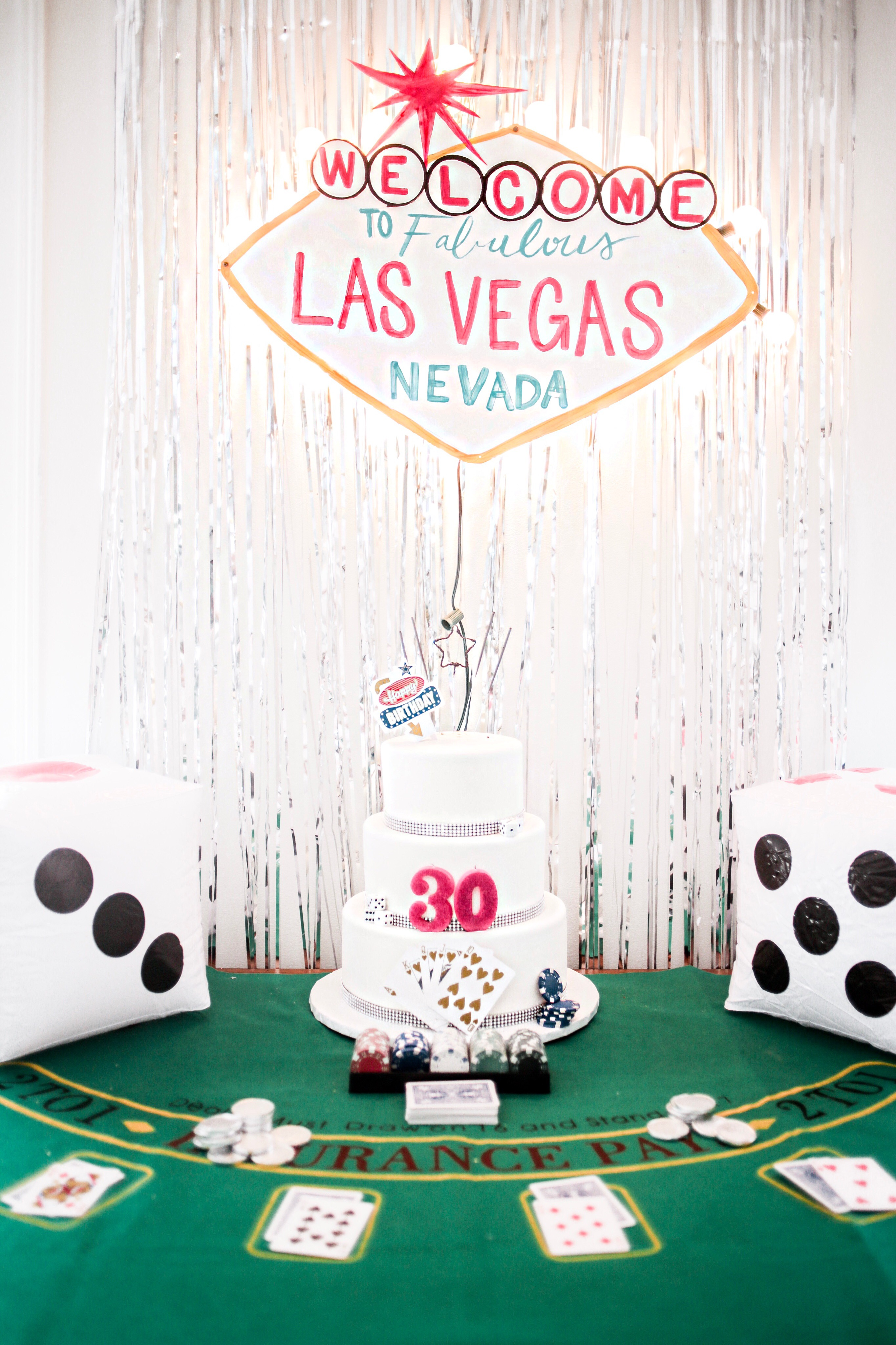 DIY 3 tier fondant vegas casino theme party girl birthday cake bachelorette // Charleston Fashion blogger Dannon K. Collard Like The Yogurt